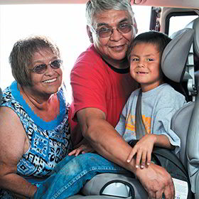 Native CARS Colville Elders w/Carseat